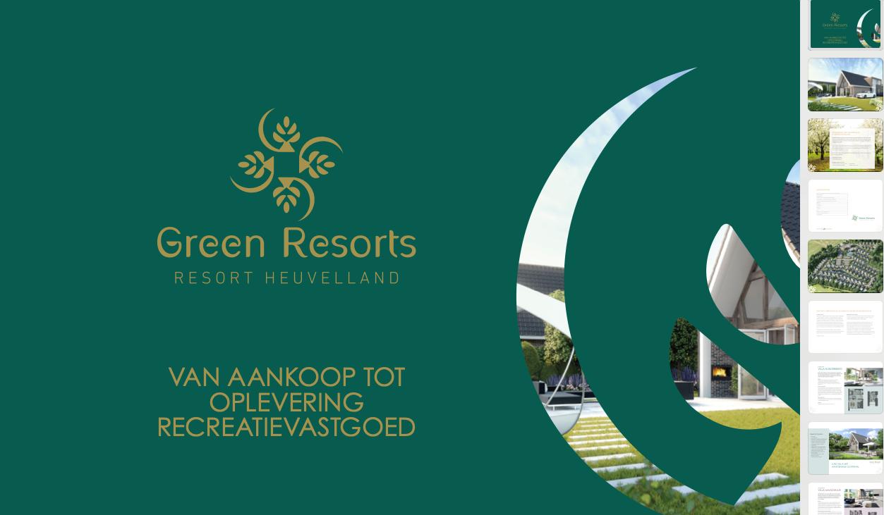 Digitale Broschüre Resort Heuvelland