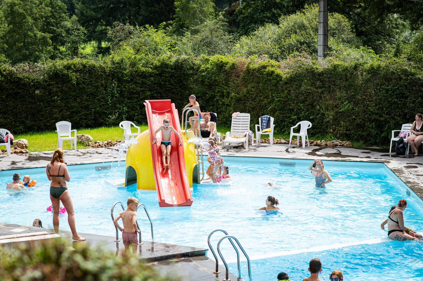Campsite Ardennes with swimming pool