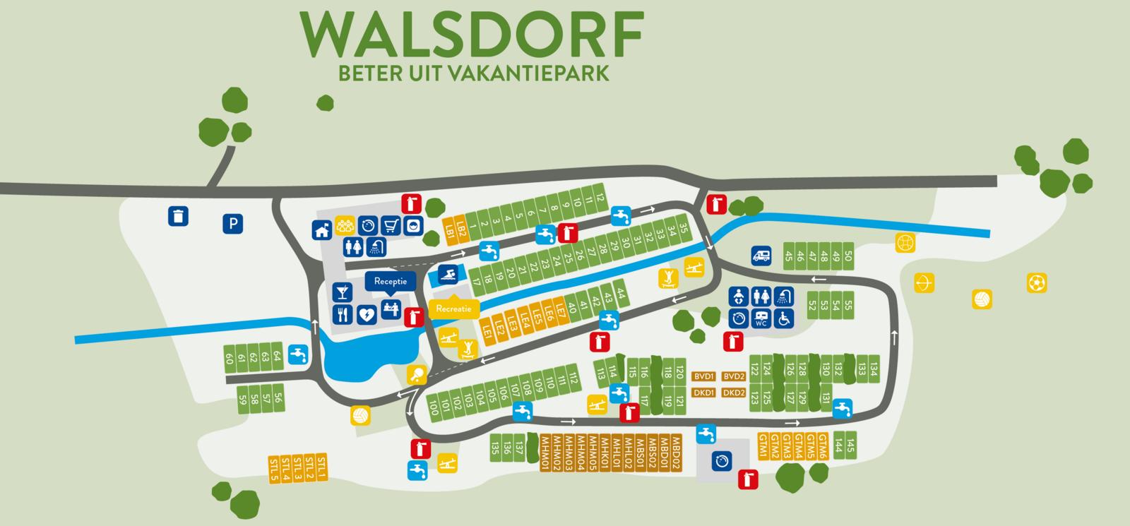 Map of Walsdorf
