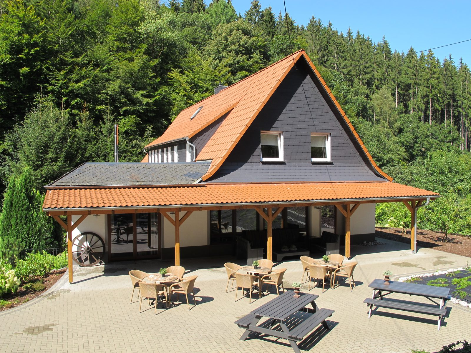 Huize Schutzbach, vakantievilla in Westerwald Duitsland