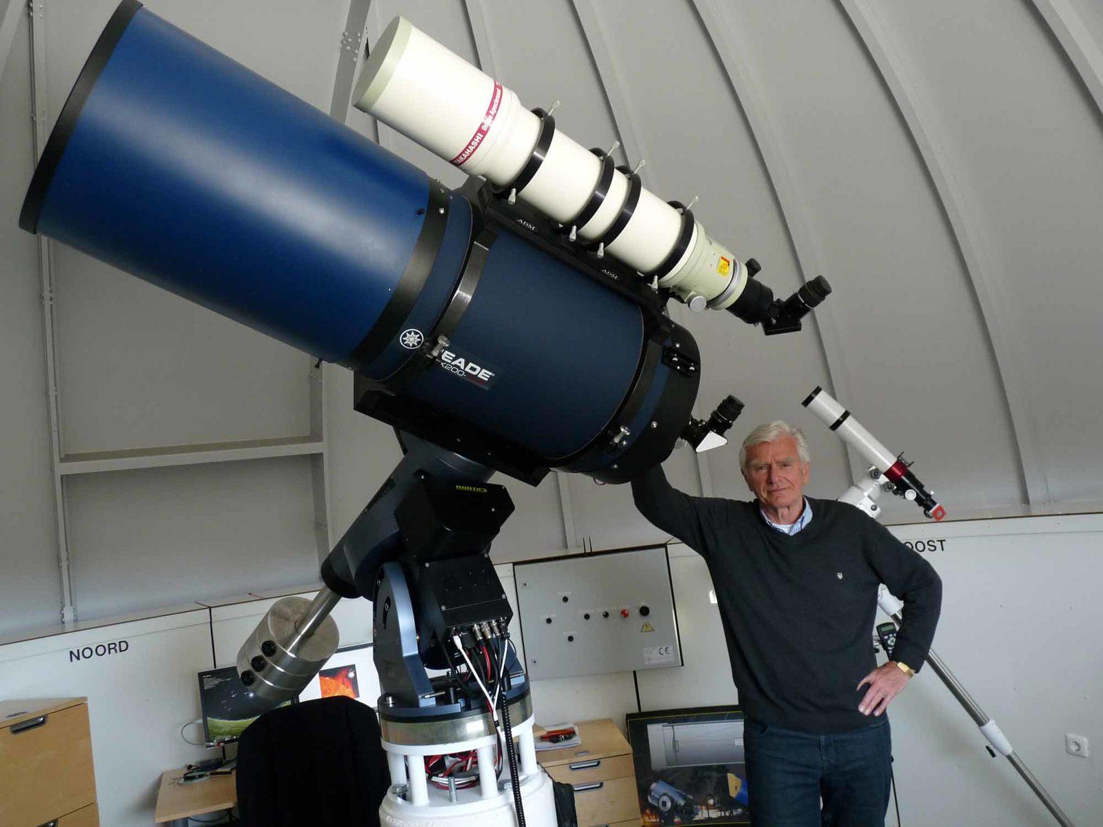 Cor Kolthof of Observatory Hellendoorn