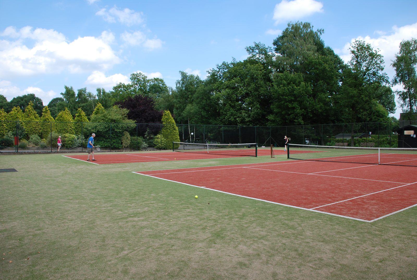 Parc de Kievit beschikt over een 10-persoons vakantiehuis in Brabant, waarbij u gebruik kunt maken van de tennisbanen.