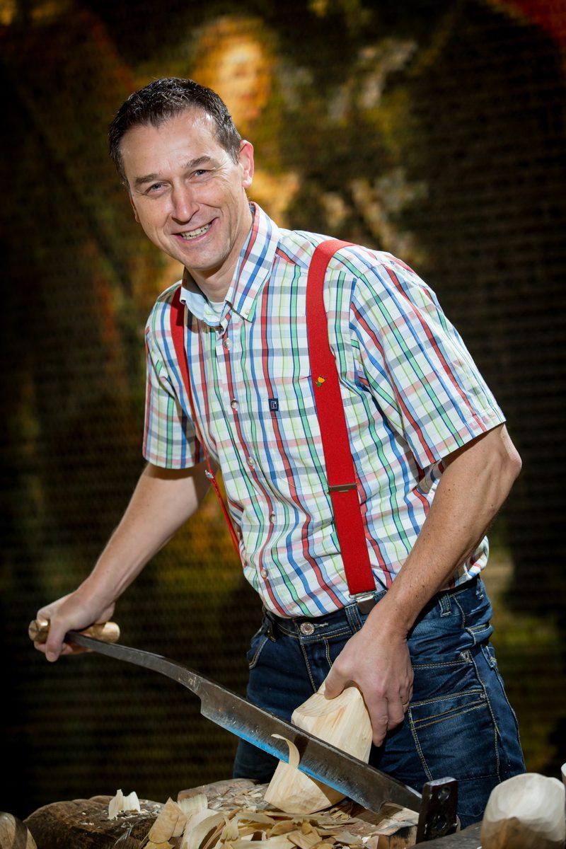 Clog maker Martin Dijkman