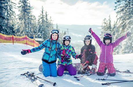 Ski area Lipno