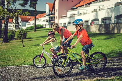 Kinderen in Lipno Lake Resort