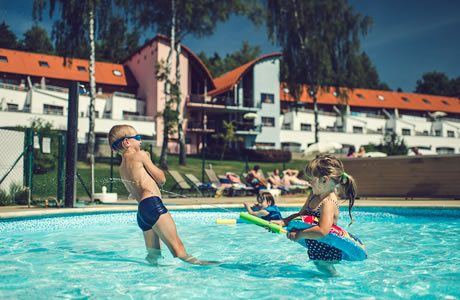 Zwembad Lipno Lake Resort