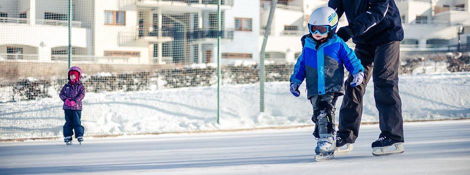 Own ice skating rink