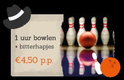 Buchen Sie eine Bowlingbahn und Snacks zu Ihrer Aktivität im Erholungspark De Boshoek dazu