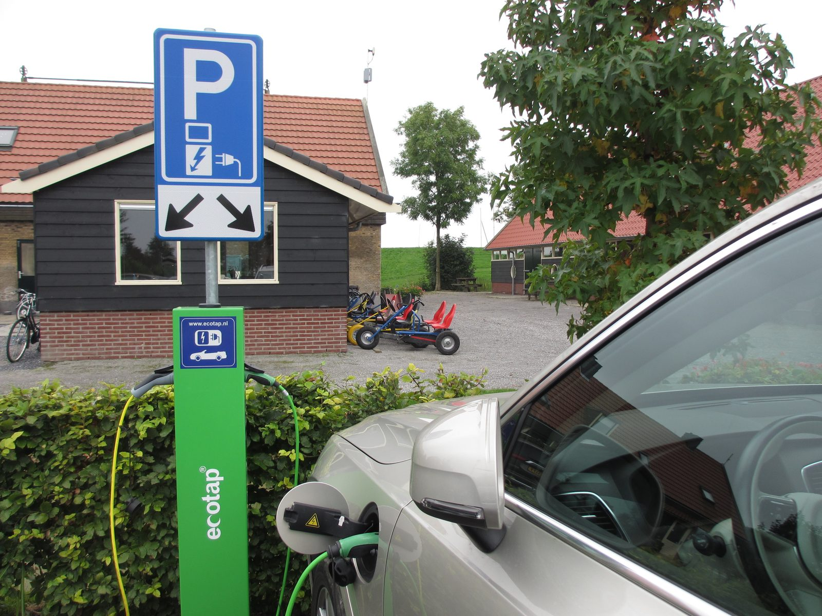Charging stations electric car