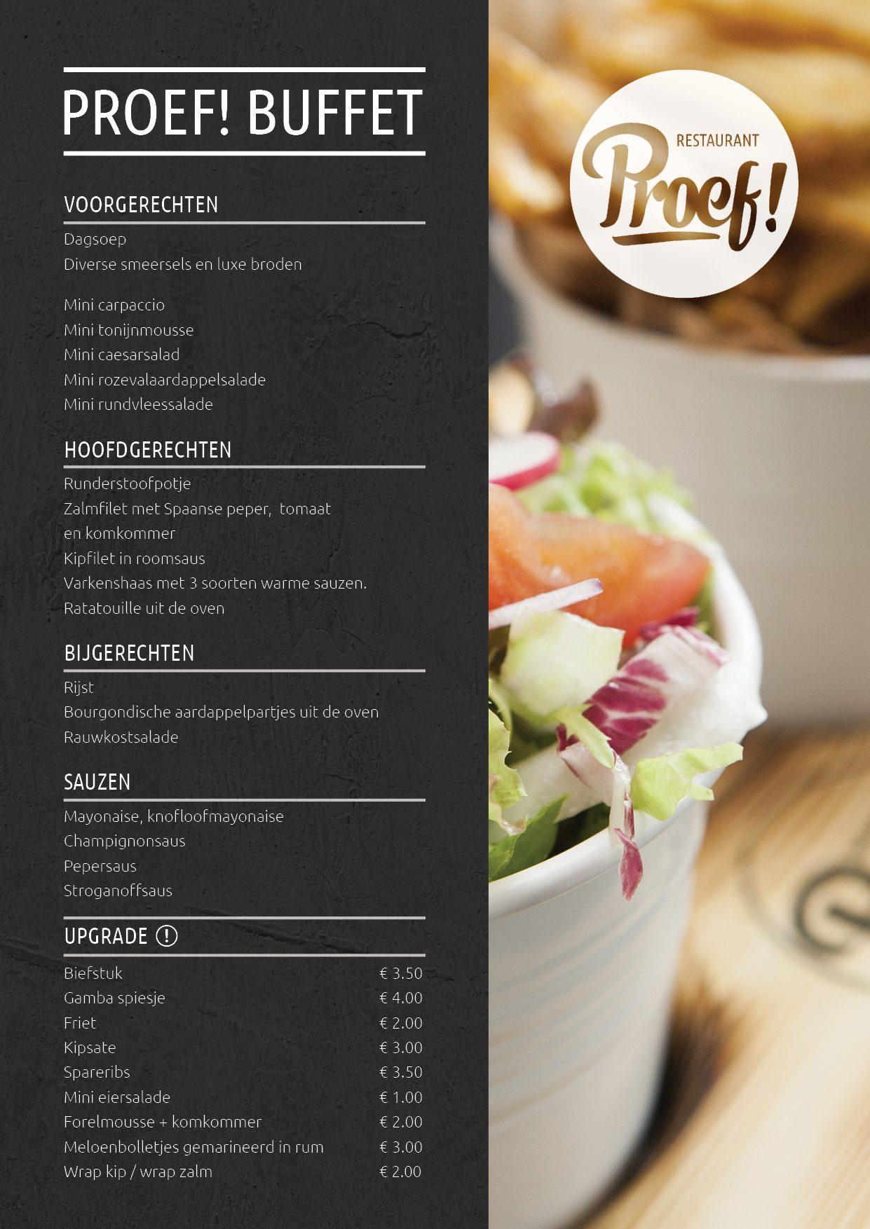 Buffet in Voorthuizen, köstliche Vielfalt und hervorragende Speisen!