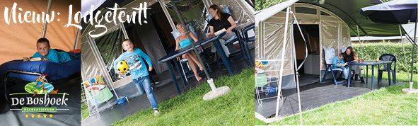 Op vakantie op de Veluwe in nieuwe Lodgetent bij Recreatiepark De Boshoek