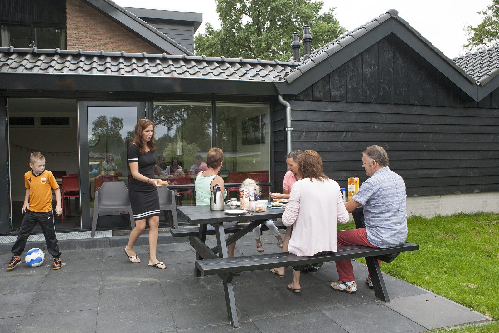 Grote Groeps Villa voor 24 personen op de Veluwe bij Recreatiepark De Boshoek