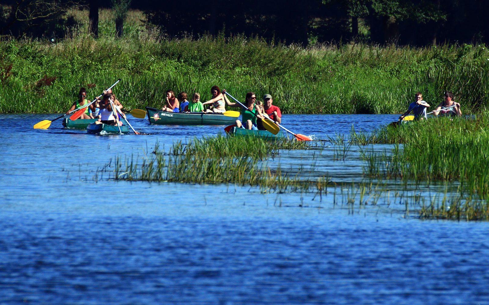 Canoe rental de Vecht