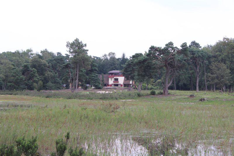 Nederland, Overijssel, Buitenplaets de Heide, landgoed in de natuur met vakantiehuis voor groepen