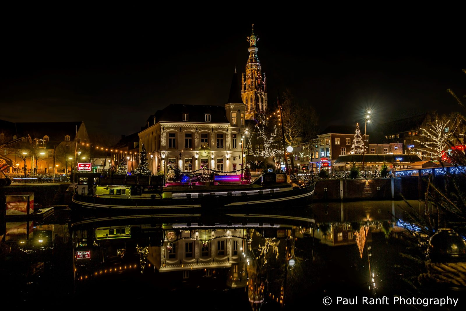 Breda by night, Paul Ranft Photography