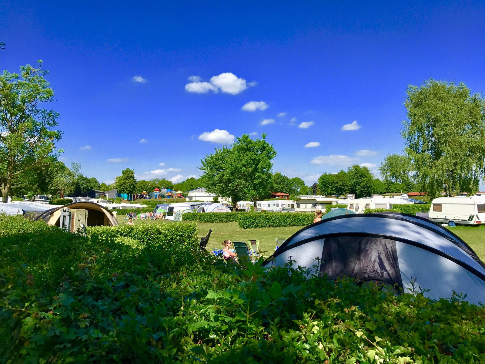 Campsites in the Netherlands