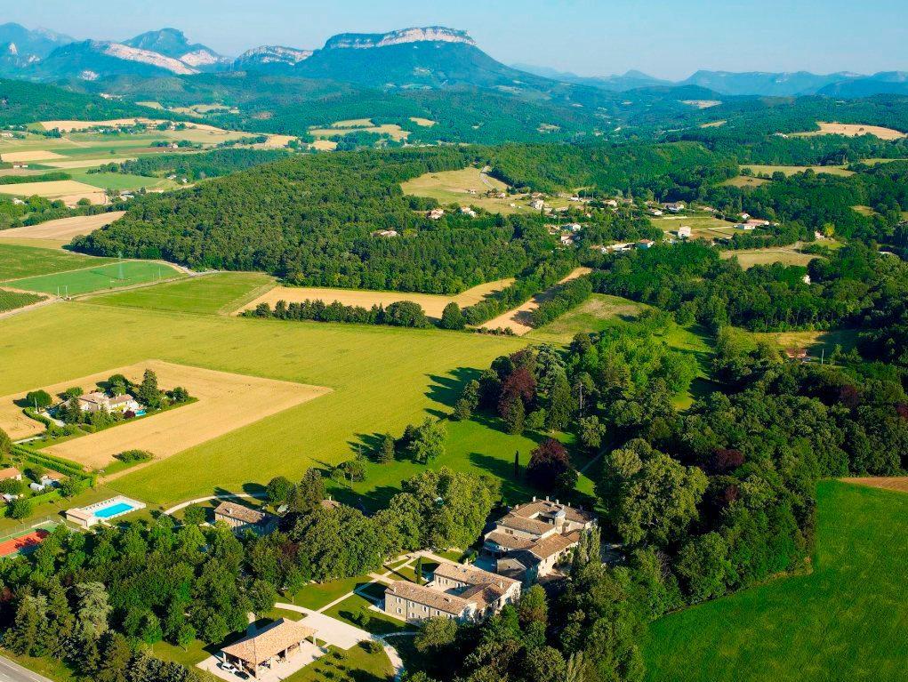 Kleinschalig vakantiepark in de Drôme-Provencale Frankrijk