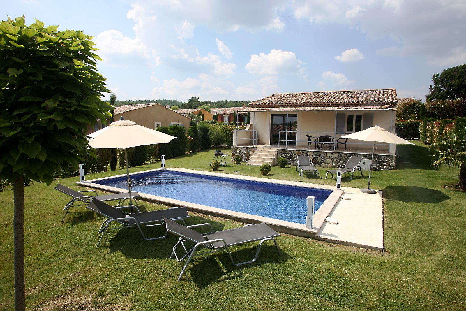 Park Beaudine, vakantievilla's met privézwembad in de Provence