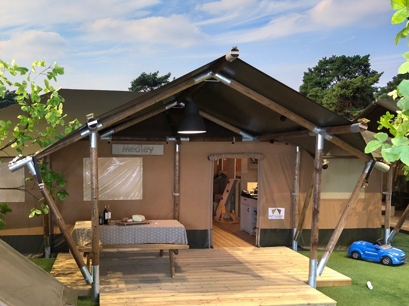 Nieuwe accommodaties op De Boshoek!