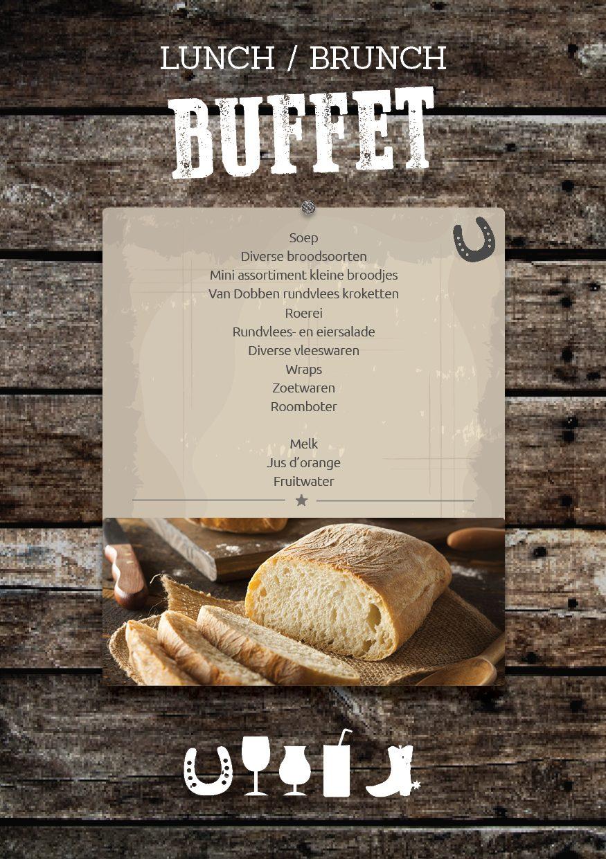 Lunch or Brunch Buffer in the Veluwe, at De Boshoek in Voorthuizen