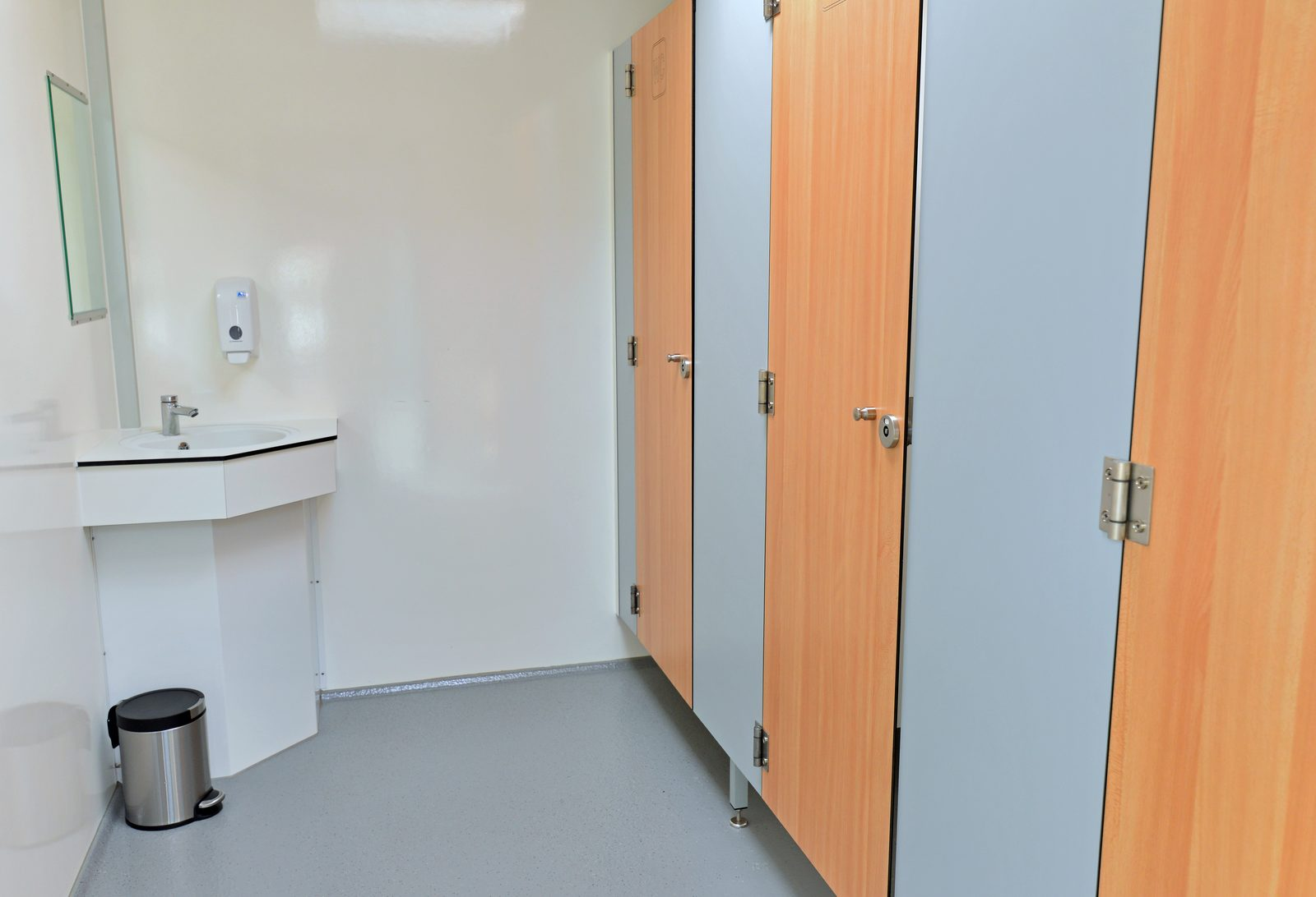 Beheizte sanitäre Einrichtungen Campingplatz de Koeksebelt