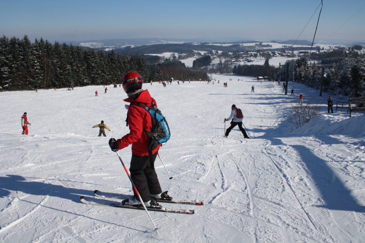 Ski dans les Ardennes