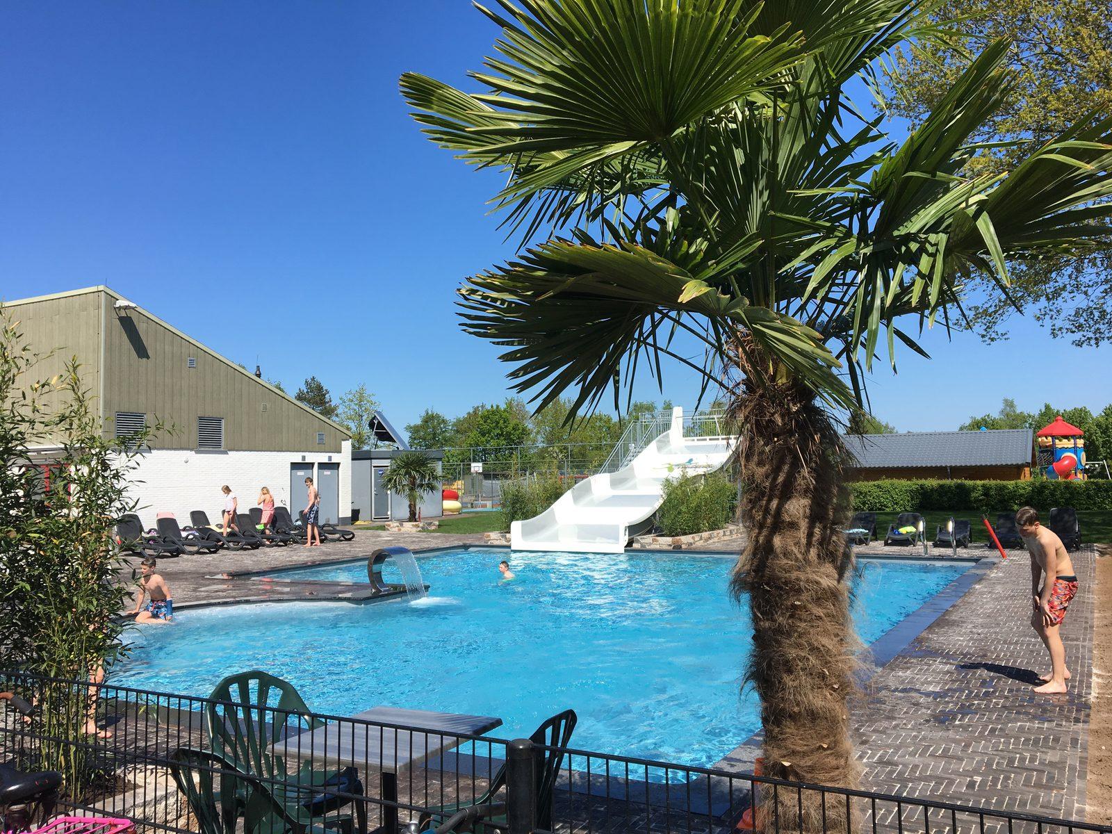 Campsite with indoor swimming pool in Overijssel