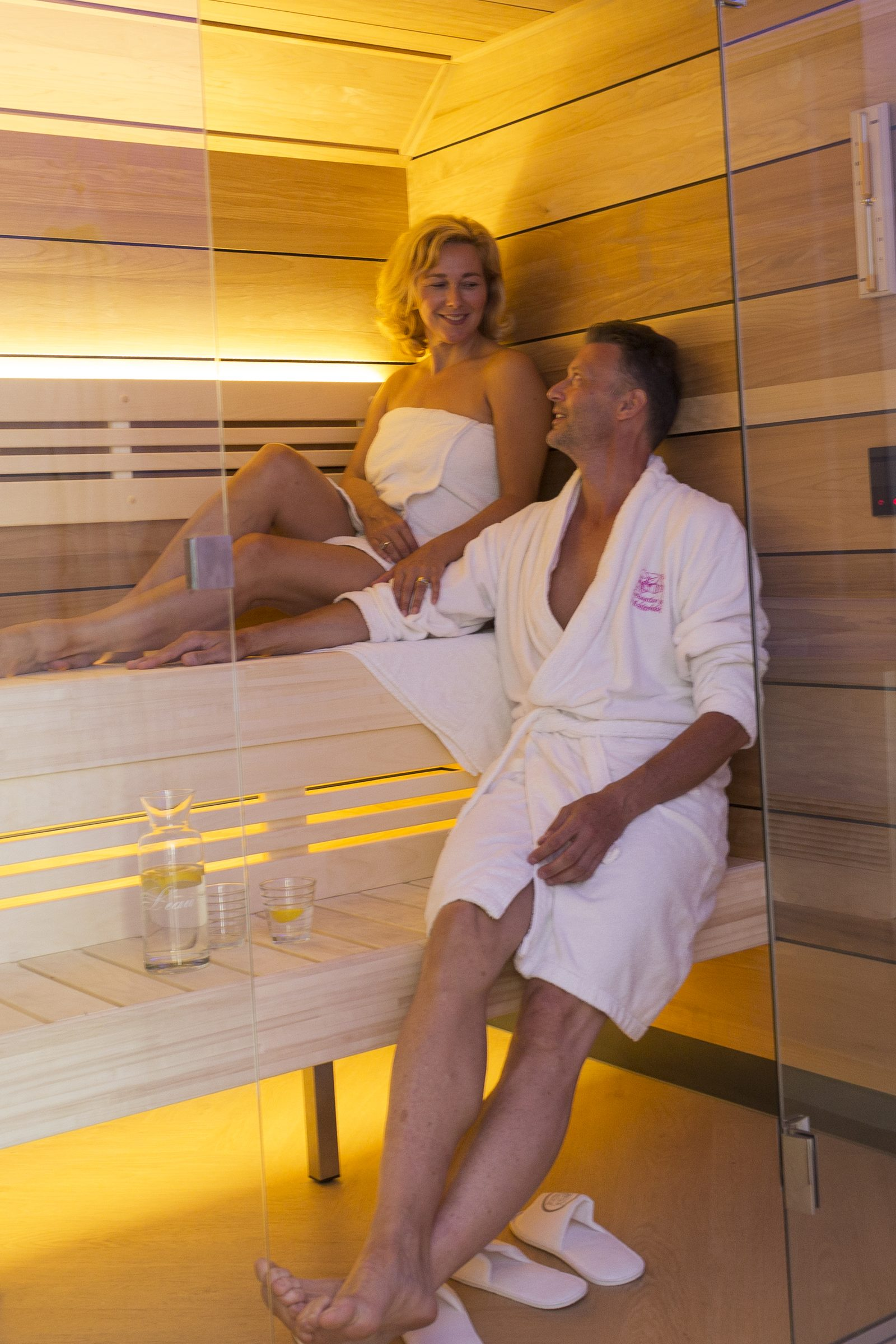 Wellness vakantiehuis met privé sauna