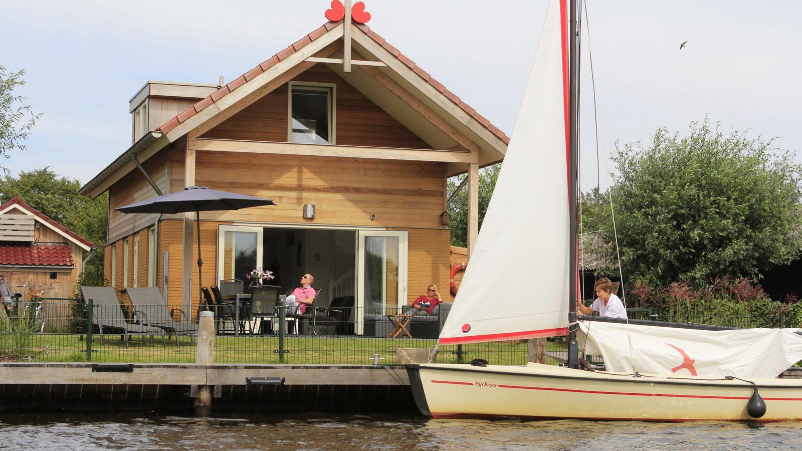 Ferienhaus am See Holland
