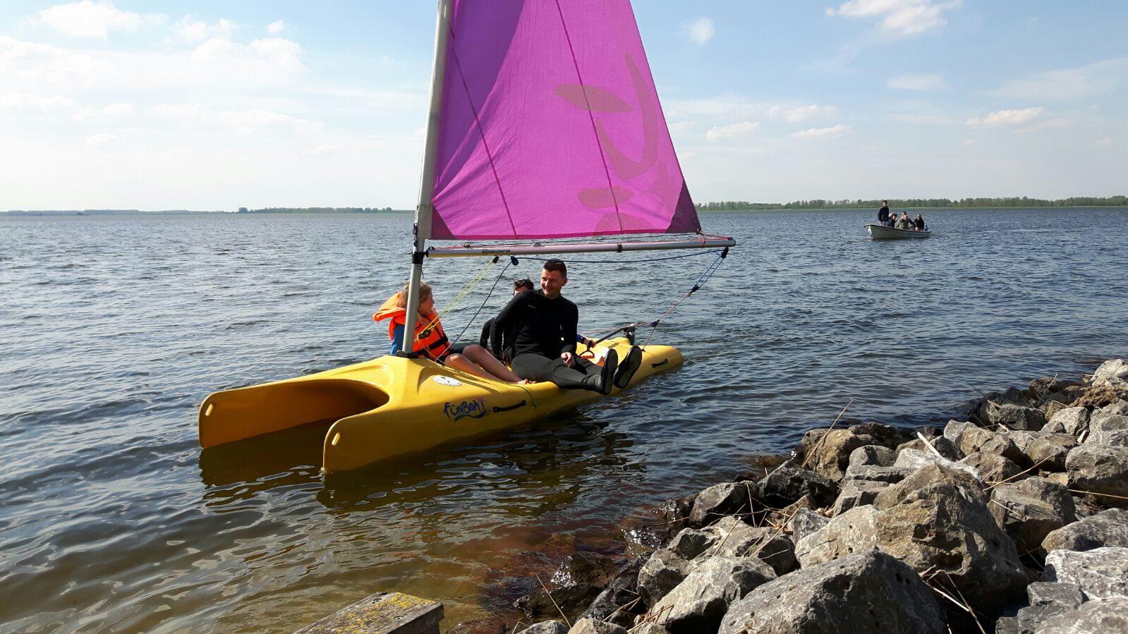 Vakantie met eigen boot