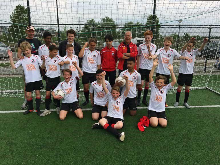 Soccer club IJburg boys team