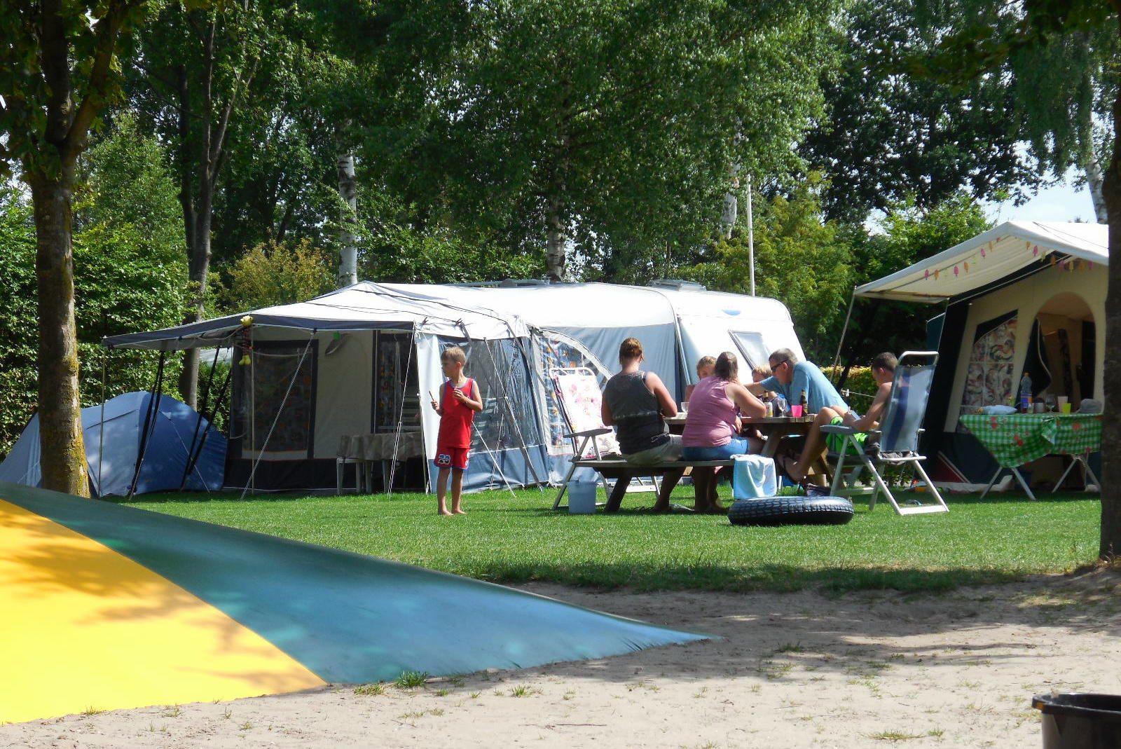 Foto's kamperen