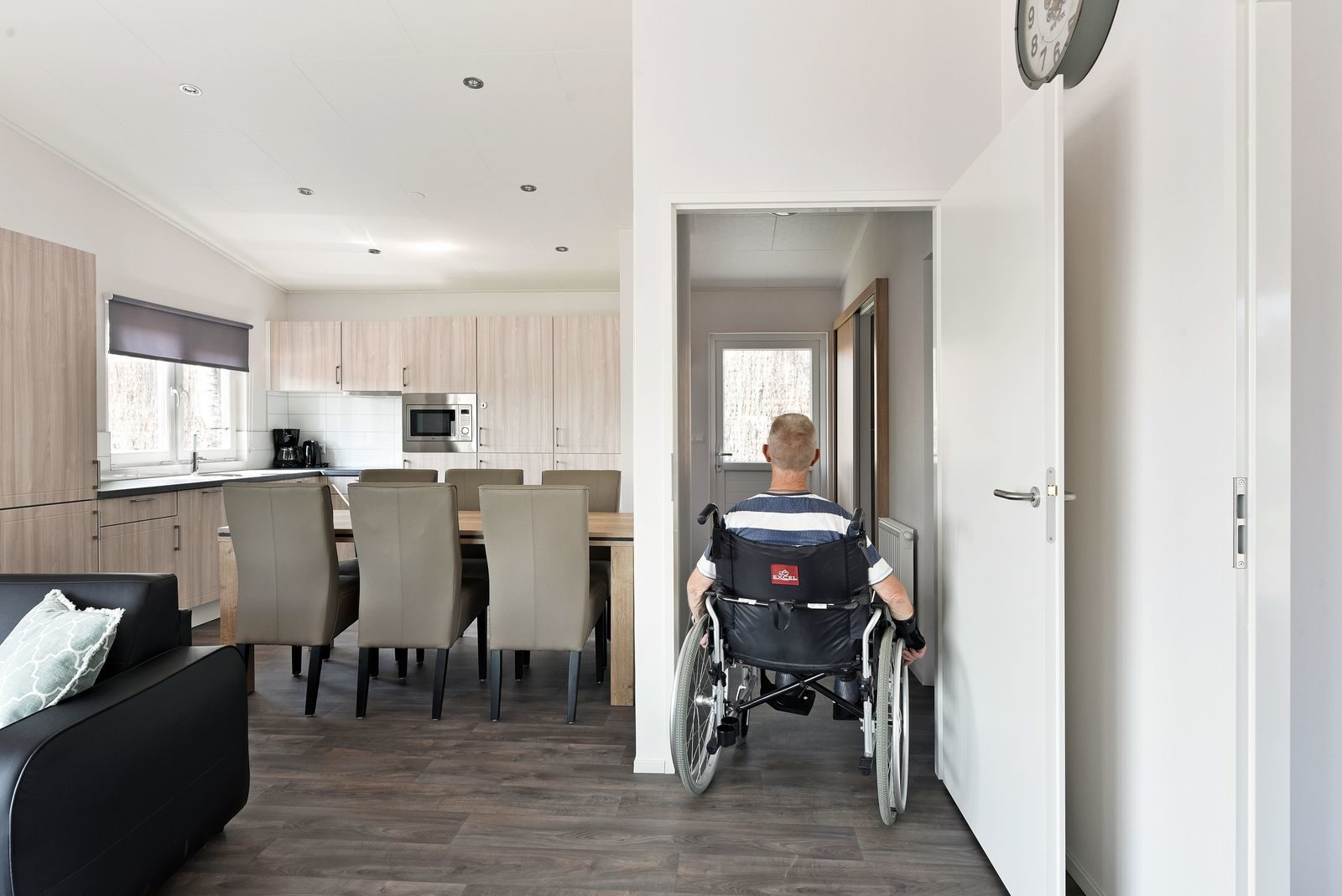 Wheelchair accessible chalet