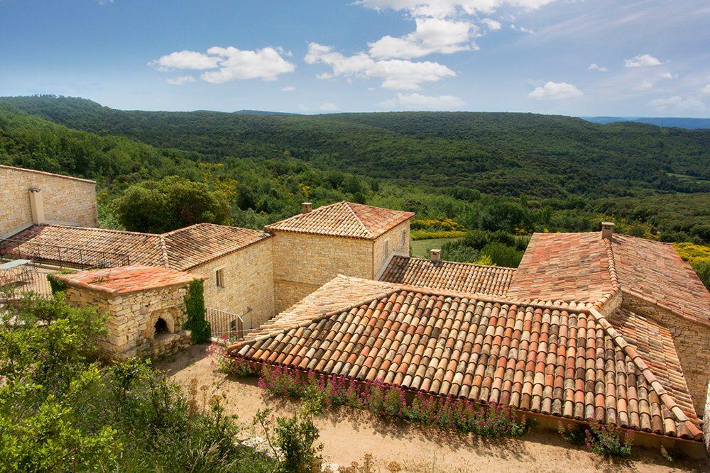 Vakantiehuizen domaine la Vallee sur Ceze in de Languedoc