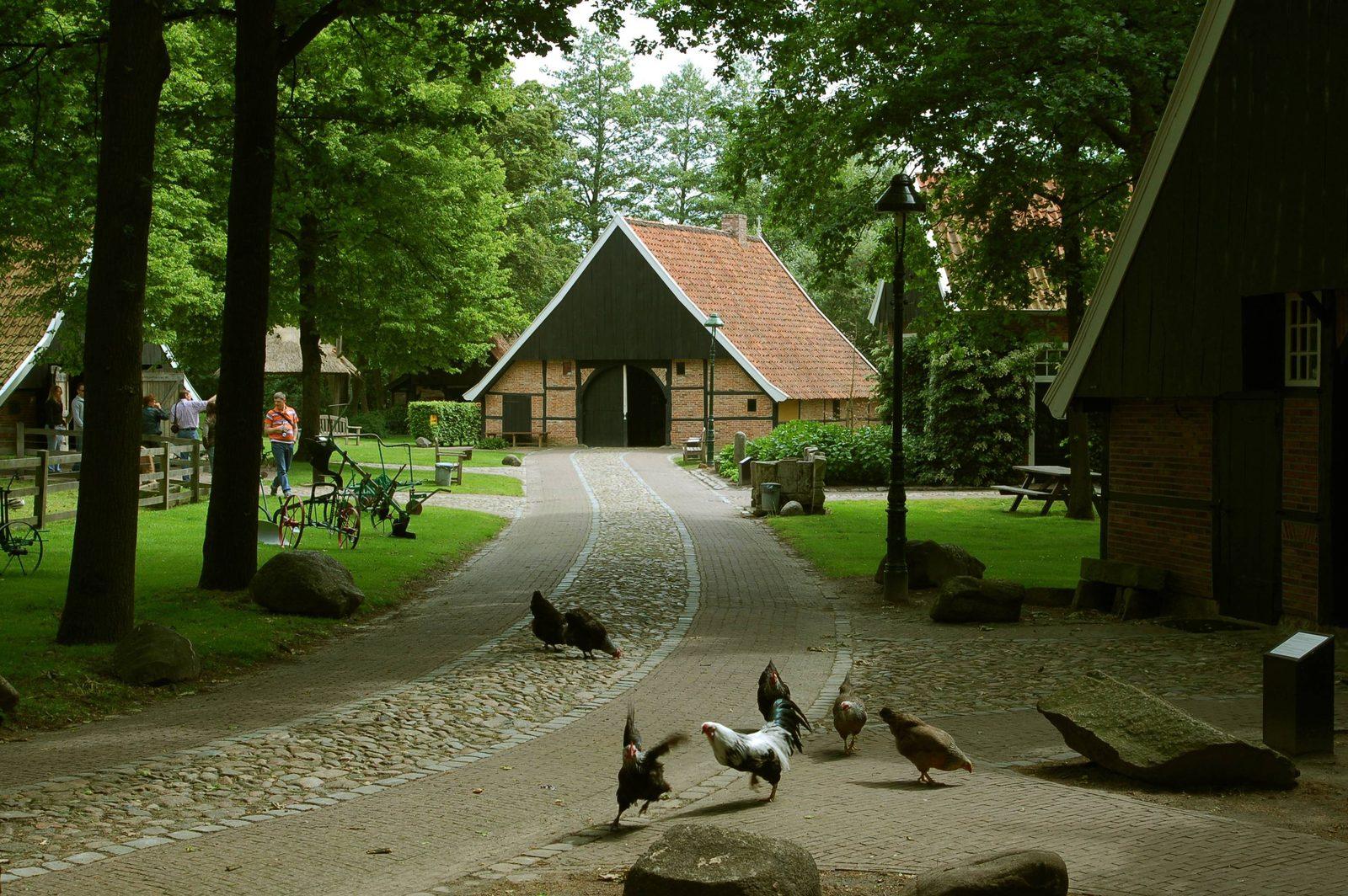 Openluchtmuseum in Ootmarsum Twente
