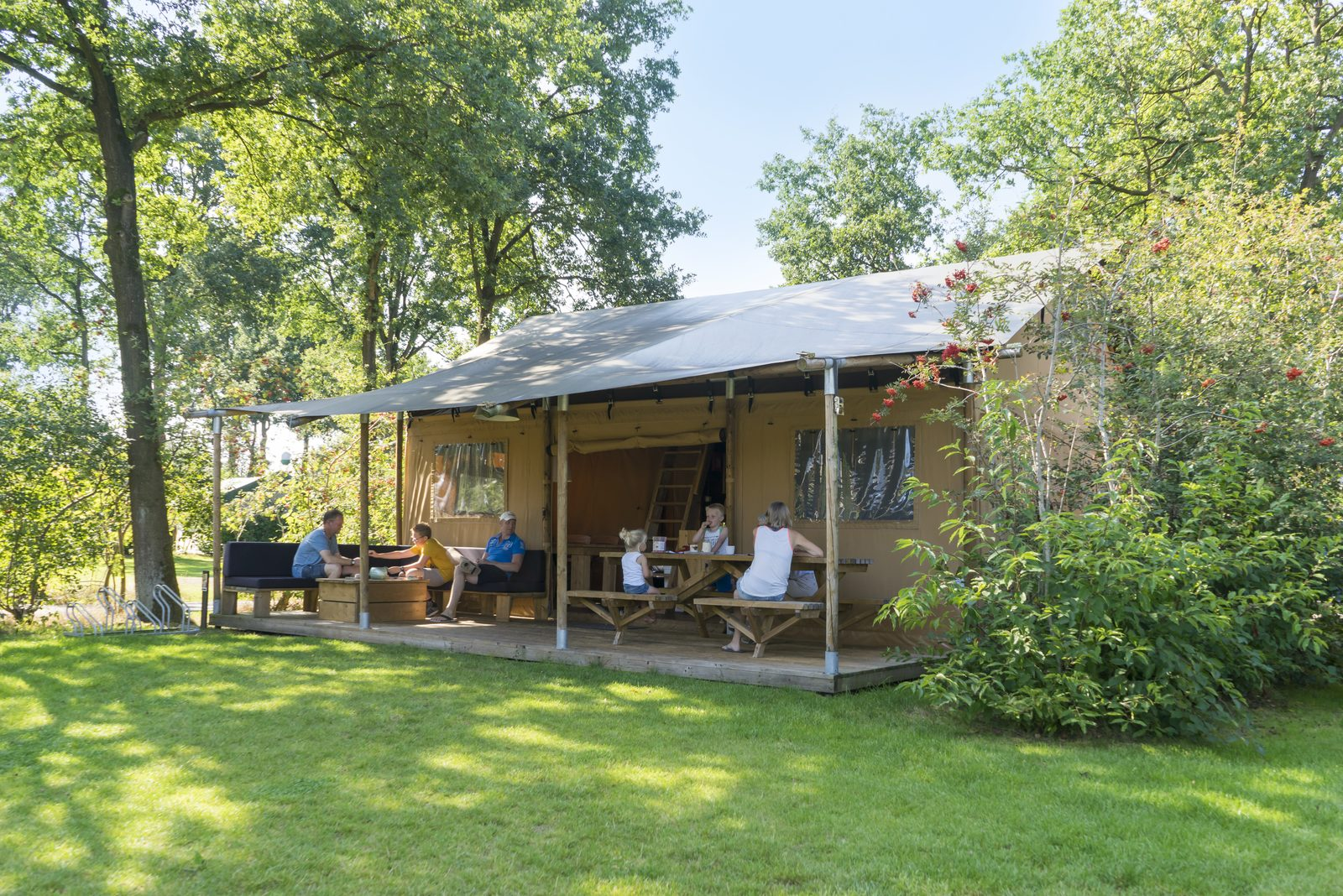 Renting a safari tent The Netherlands