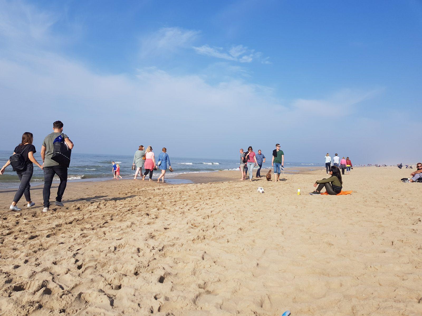 Strandbesuch