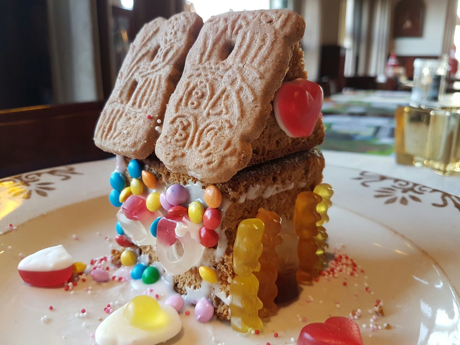 Snoephuisje maken met kinderfeestje in Voorthuizen
