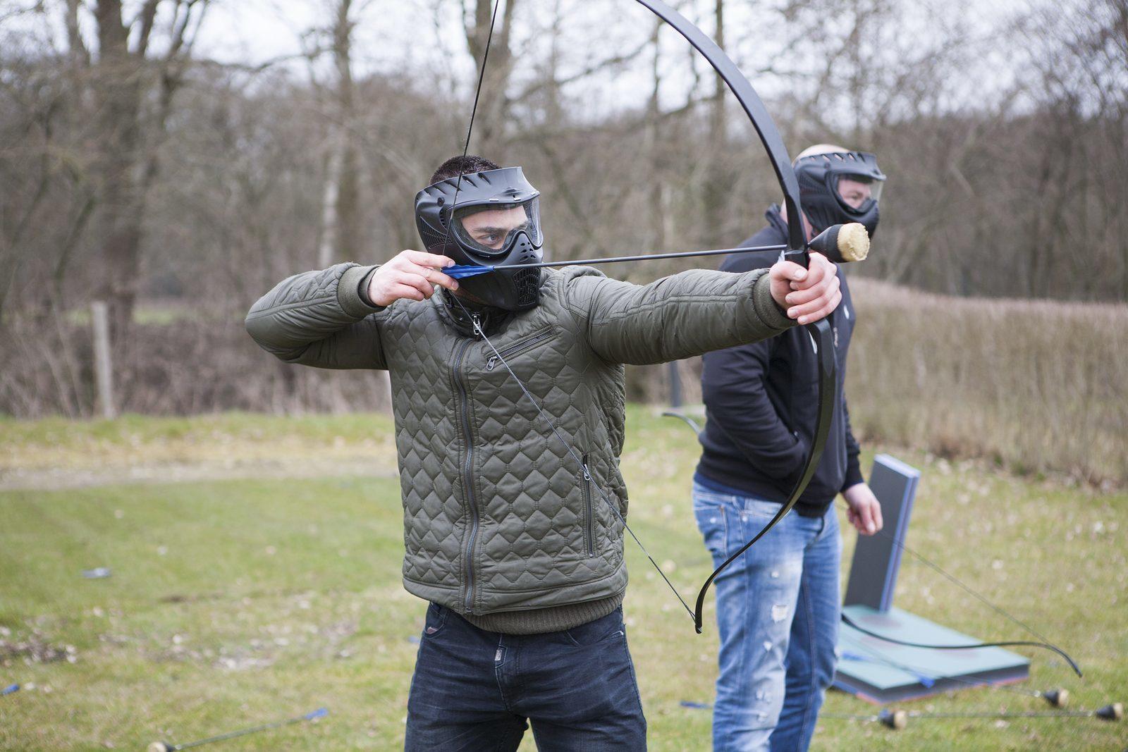 Archery Tag Vrijgezellenfeest