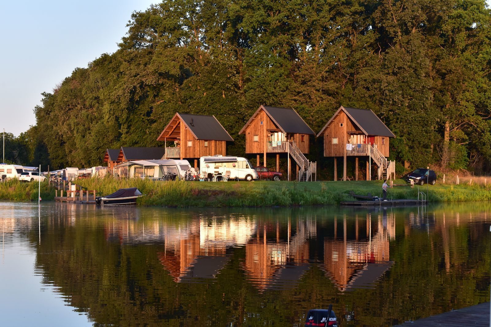 Accommodations near the Vecht river