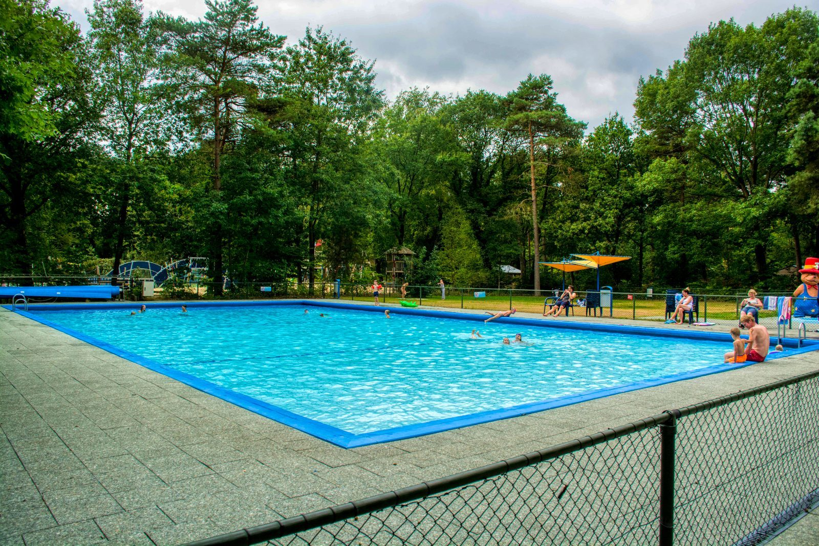 Campsite Drenthe with swimming pool