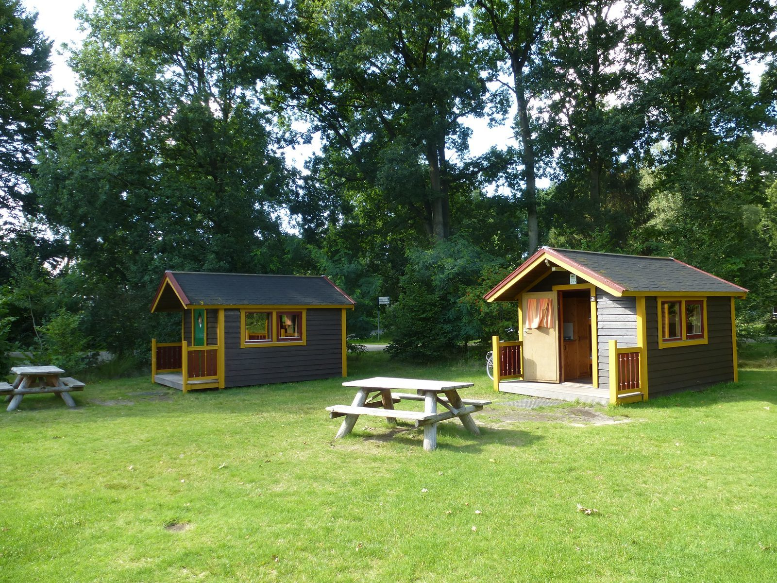 Hikers' cabins