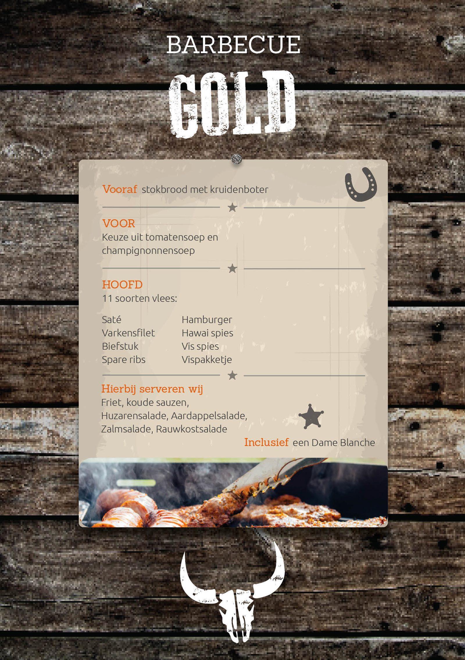 BBQ Gold bij Events op de Veluwe in Voorthuizen