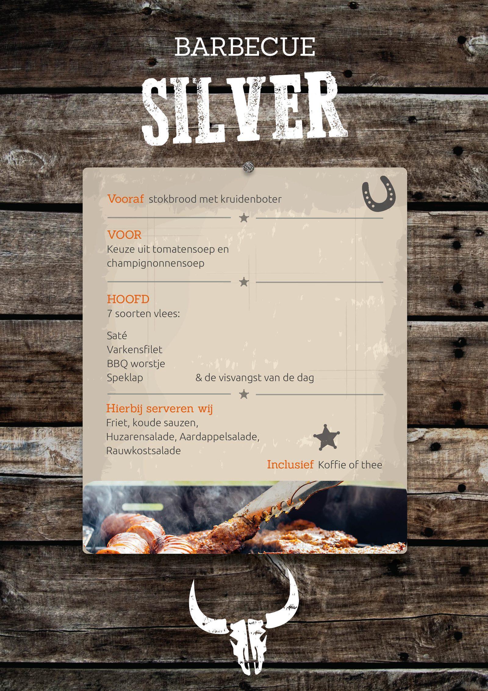 BBQ Silver bij Events op de Veluwe in Voorthuizen