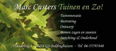 Marc Custers Tuinen en Zo!