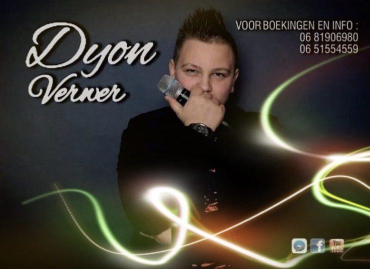 Optreden van Dyon Verwer