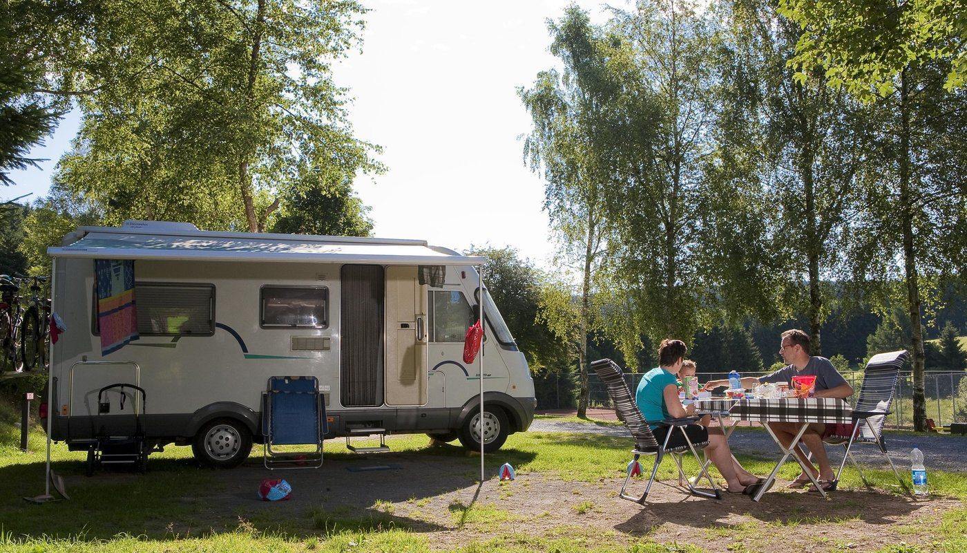 Camper spots Ardennes