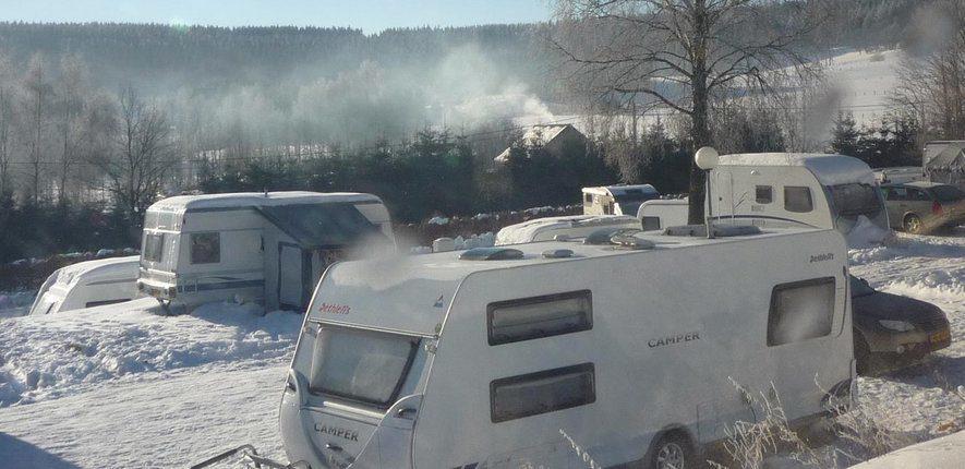 Winterkamperen in de Ardennen
