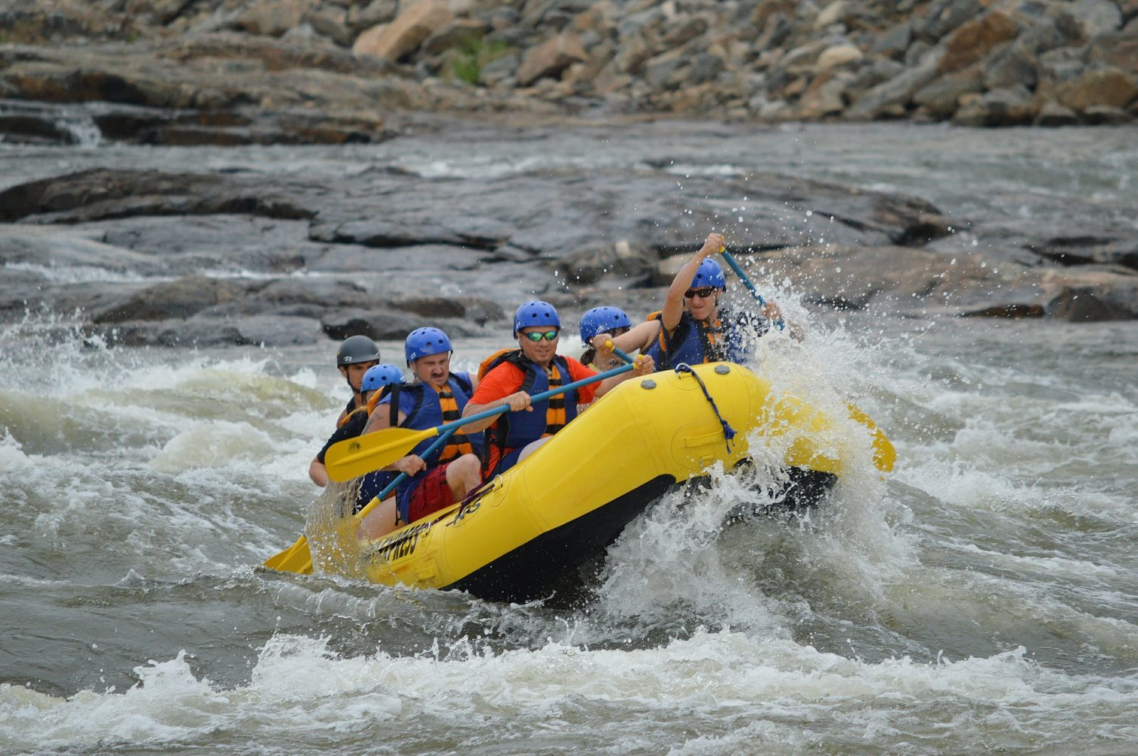 Go rafting in the Ardennes with the whole family!