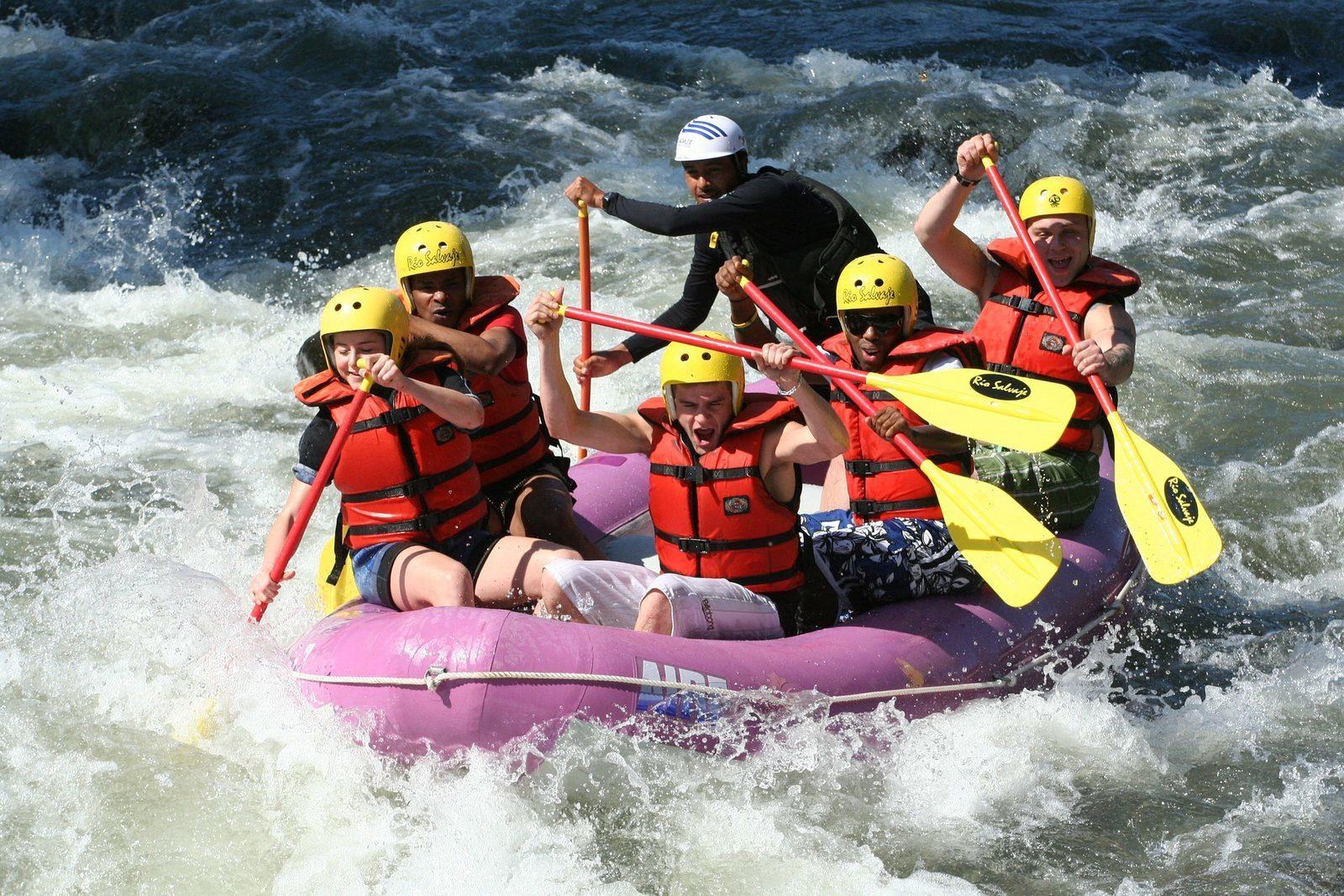 Rafting à Petite Suisse